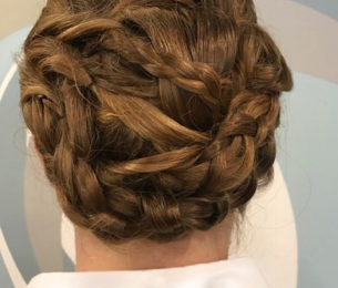 Braided & Twisted Updo